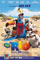 Rio - Danish Movie Poster (xs thumbnail)
