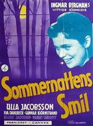 Sommarnattens leende - Danish Movie Poster (xs thumbnail)