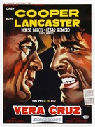 Vera Cruz - Belgian Movie Poster (xs thumbnail)
