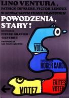 Adieu, poulet - Polish Movie Poster (xs thumbnail)