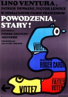 Adieu, poulet - Polish Movie Poster (xs thumbnail)