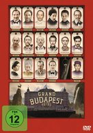 The Grand Budapest Hotel - German DVD cover (xs thumbnail)