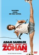 You Don't Mess with the Zohan - German Movie Cover (xs thumbnail)