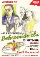 La vie de bohème - Estonian Re-release poster (xs thumbnail)