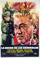 The Night of the Generals - Spanish Movie Poster (xs thumbnail)