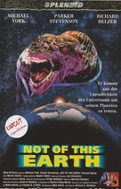 Not of This Earth - German VHS cover (xs thumbnail)