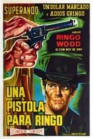 Una pistola per Ringo - Argentinian Movie Poster (xs thumbnail)