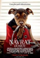 A Dog's Way Home - Slovak Movie Poster (xs thumbnail)