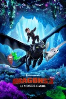 How to Train Your Dragon: The Hidden World - French Movie Cover (xs thumbnail)