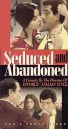 Sedotta e abbandonata - VHS cover (xs thumbnail)