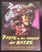 La morte negli occhi del gatto - German Movie Poster (xs thumbnail)