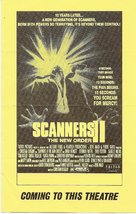 Scanners II: The New Order - poster (xs thumbnail)