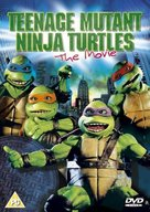 Teenage Mutant Ninja Turtles - British DVD cover (xs thumbnail)