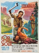 The Indian Fighter - French Movie Poster (xs thumbnail)