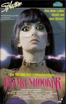 Frankenhooker - German VHS movie cover (xs thumbnail)