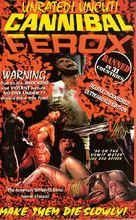 Cannibal ferox - VHS movie cover (xs thumbnail)
