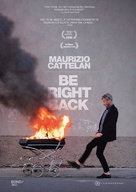 Maurizio Cattelan: Be Right Back - Movie Cover (xs thumbnail)