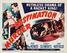 Destination Murder - Movie Poster (xs thumbnail)