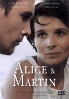 Alice et Martin - Brazilian DVD movie cover (xs thumbnail)