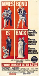 From Russia with Love - Australian Theatrical movie poster (xs thumbnail)