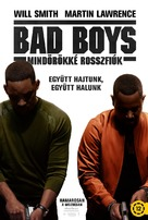 Bad Boys for Life - Hungarian Movie Poster (xs thumbnail)