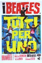 A Hard Day's Night - Italian Movie Poster (xs thumbnail)