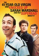 The 41 Year Old Virgin Who Knocked Up Sarah Marshall and Felt Superbad About It - Danish Movie Cover (xs thumbnail)