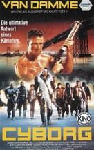 Cyborg - German VHS cover (xs thumbnail)