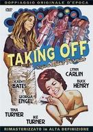 Taking Off - Italian DVD movie cover (xs thumbnail)