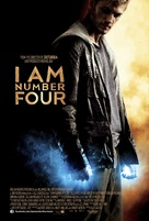 I Am Number Four - British Movie Poster (xs thumbnail)