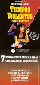 Pulp Fiction - Argentinian VHS movie cover (xs thumbnail)