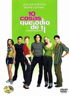 10 Things I Hate About You - Spanish DVD movie cover (xs thumbnail)