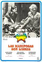 Butterflies Are Free - Spanish Movie Poster (xs thumbnail)