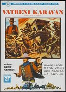 The War Wagon - Yugoslav Movie Poster (xs thumbnail)