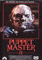 Puppet Master II - German Movie Cover (xs thumbnail)