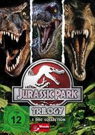 Jurassic Park - German DVD movie cover (xs thumbnail)