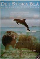 Le grand bleu - Swedish Movie Poster (xs thumbnail)