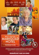 The Best Exotic Marigold Hotel - German Movie Poster (xs thumbnail)