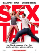 Sex Tape - French Movie Poster (xs thumbnail)