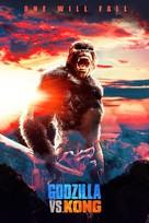 Godzilla vs. Kong - International poster (xs thumbnail)