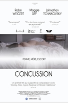 Concussion - French Movie Poster (xs thumbnail)