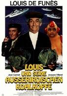 La soupe aux choux - German Movie Poster (xs thumbnail)