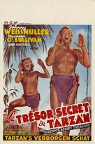 Tarzan's Secret Treasure - Belgian Movie Poster (xs thumbnail)