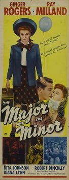 The Major and the Minor - Movie Poster (xs thumbnail)