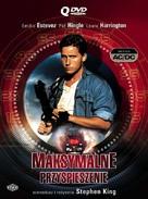Maximum Overdrive - Polish DVD cover (xs thumbnail)