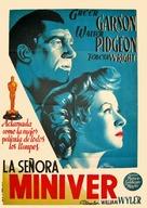 Mrs. Miniver - Spanish Movie Poster (xs thumbnail)