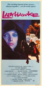 Ladyhawke - Australian Movie Poster (xs thumbnail)