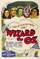 The Wizard of Oz - Australian Re-release movie poster (xs thumbnail)