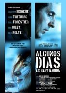 Quelques jours en septembre - Spanish Movie Poster (xs thumbnail)