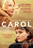 Carol - Polish Movie Poster (xs thumbnail)